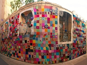 Urban Knitting, el ganchillo hecho arte