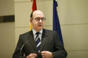 El presidente de la Asociación Española de Banca, José María Roldán. / Foto: Europa Press.