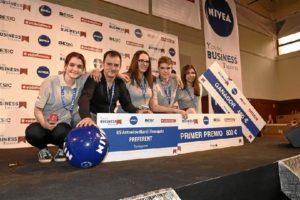 Ganadores del torneo Young Business Talents.