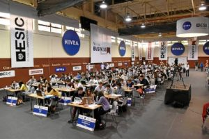 Más de alumnos de toda España han participado en el torneo.