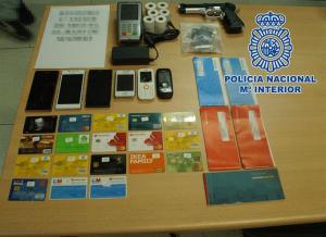 Uso fraudulento de tarjetas bancarias extranjeras