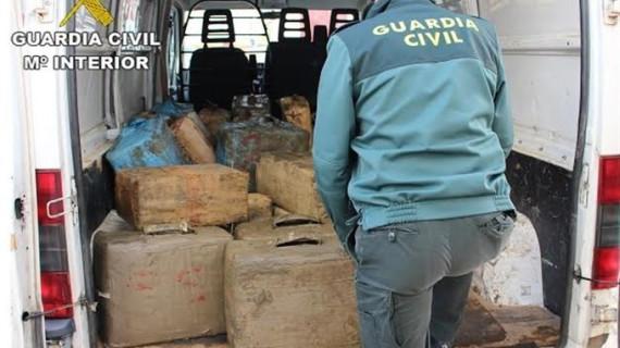 Cae una red de narcotráfico que introducía grandes cantidades de hachís en Tenerife