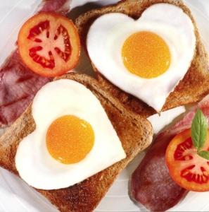 Desayuno con proteinas