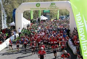 Carrera de Oxfam Intermón.