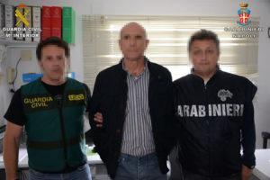 El detenido es Lucio Morrone, alias 'Spalluzzella'.
