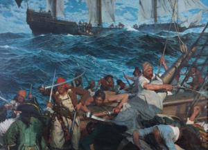 Exposición 'Hombres de la mar, barcos de leyenda'.