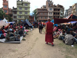 Ayuda humanitaria para Nepal.