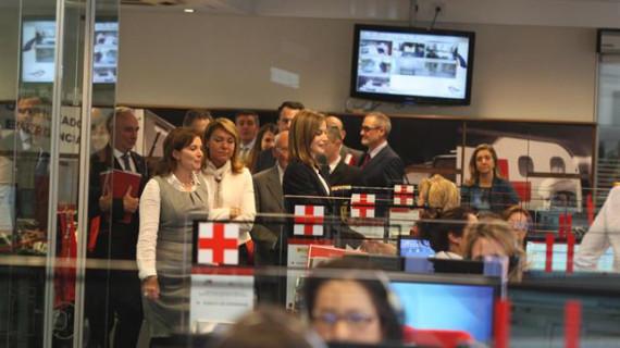 Cruz Roja presenta sus prioridades para los próximos cuatro años a su patrona de honor