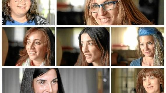 Siete mamás de hijos con cáncer celebran su día apoyando la investigación