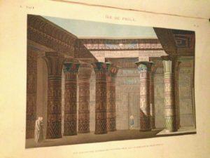 Description de l'Egypte_libro_L'Ile de Phile