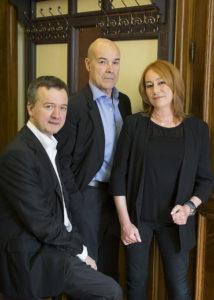 Edmon Roch, Antonio Resines y Gracia Querejeta. / Foto: Enrique Cidoncha