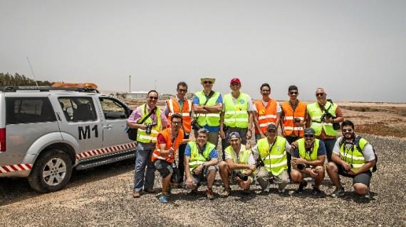 El Aeropuerto de Fuerteventura celebró su 'I Open Day FUE' para spotters