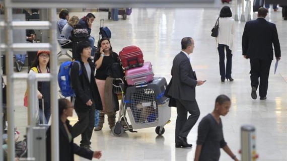 Los turistas extranjeros gastaron un 7,2% más en el primer trimestre
