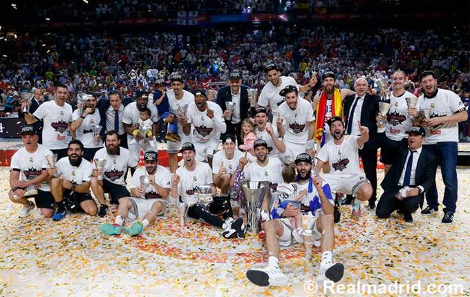 El Real Madrid de baloncesto, campeón de Europa