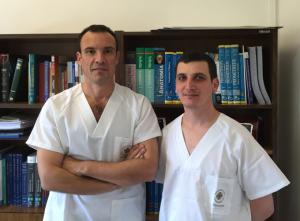 Los investigadores Juan Francisco Lisón y Pablo Salvador.