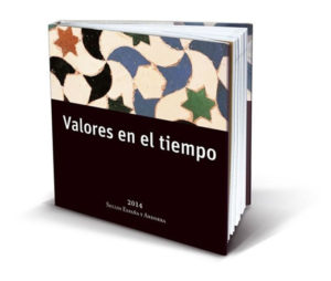 Ejemplar de 'Valores en el tiempo'. / Foto: Correos.