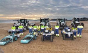 Voluntarios realizarán la limpieza de playas. / Foto: Ayuntamiento de Santander