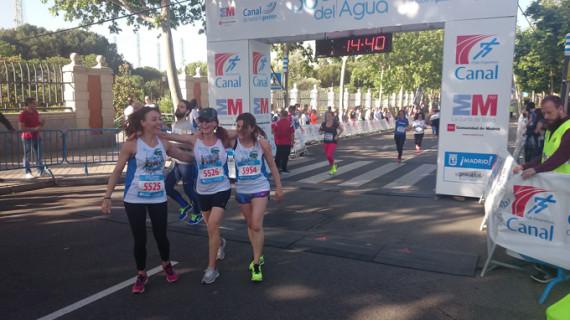 Más de 6.500 personas participan en la XXXVI Carrera del Agua de Madrid