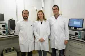 Los investigadores de la Universitat Jaume I responsables de este proyecto.