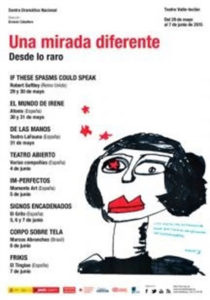 Cartel del Festival 'Una mirada diferente'.