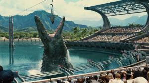 Fotograma de Jurassic World.