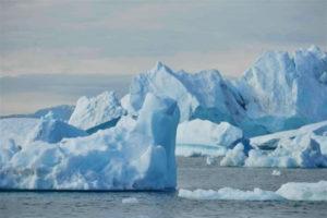 El área marina se crearía bajo las aguas del Ártico. / Foto: Greenpeace.