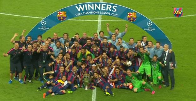 El Barcelona se proclama campeón de Europa