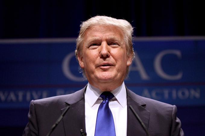 Donald Trump se presenta como candidato a la presidencia de Estados Unidos.