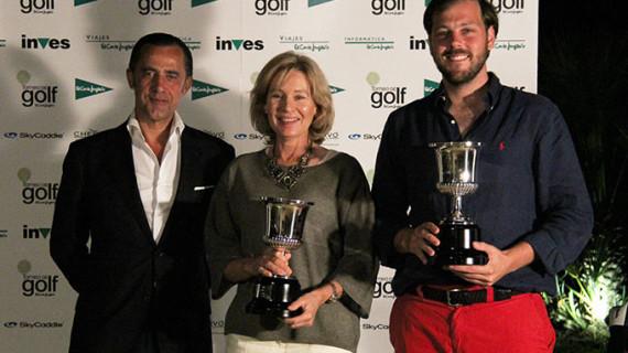 Teresa Burguete Buiza y Pedro Abaurre Benjumea conquistan el XXI Torneo de Golf de El Corte Inglés celebrado en El Rompido