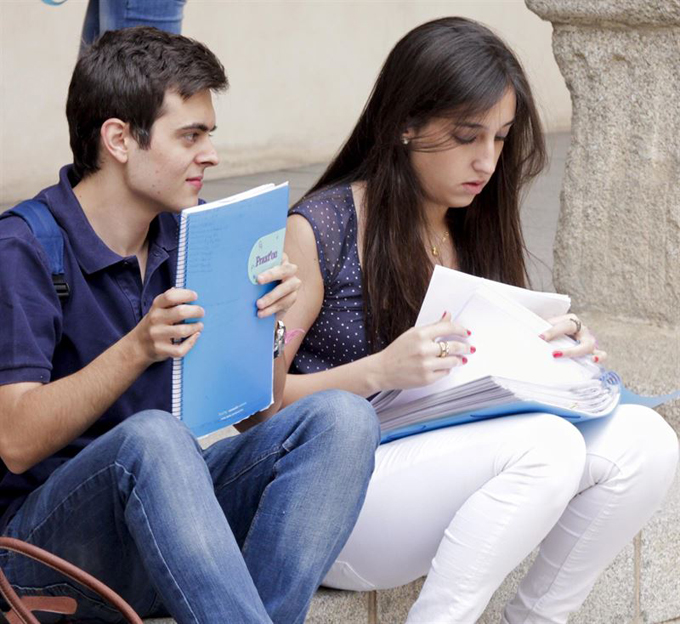 Los estudiantes se preparan para las pruebas de acceso a la universidad. / Foto: Europa Press.