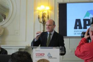 El ministro de Economía Luis de Guindos. / Foto: Europa Press.