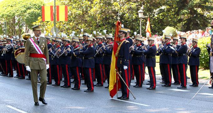 España homenajea a los que dieron la vida por su patria