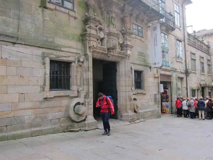 Crecen las peregrinaciones a Santiago. / Foto: Europa Press.