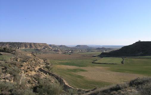 La red fluvial de la cuenca del Ebro se inició hace más de un millón de años