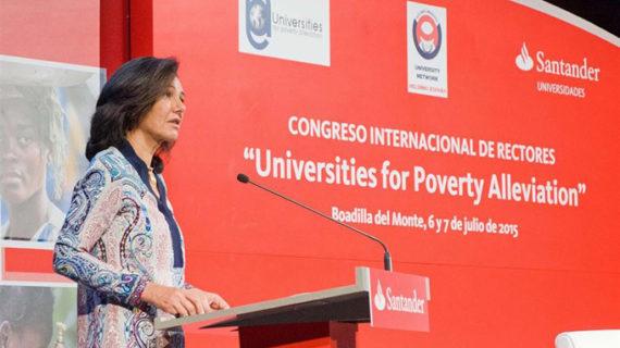 Un total de 63 universidades se comprometen a aliviar la pobreza en el Congreso Internacional de Rectores