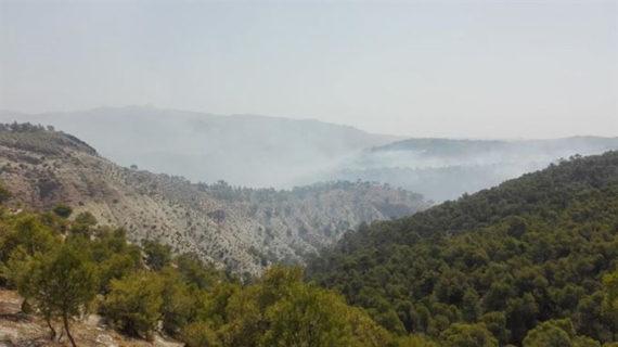 Controlado el incendio de Quesada en el Parque Natural de Cazorla