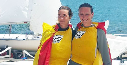España, campeona del mundo de vela en la clase 420
