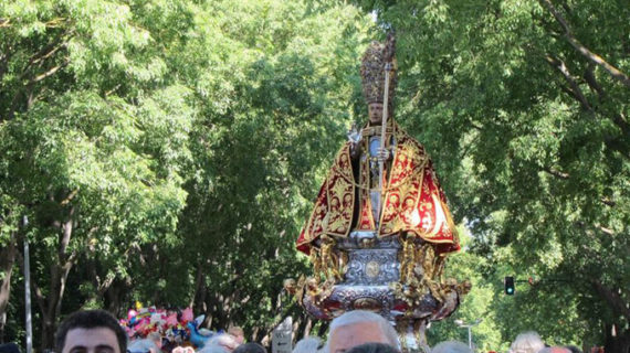 Pamplona celebra el 7 de julio el día grande de las fiestas con la tradicional procesión de San Fermín