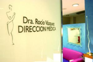 Sala de la Clínica Rocío Vázquez.