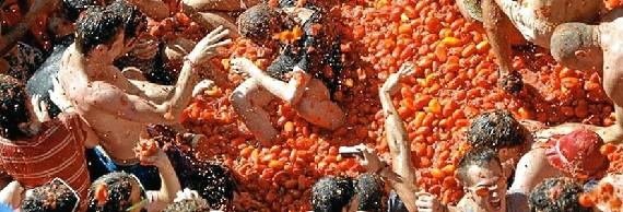 La Tomatina de Buñol cumple 70 años