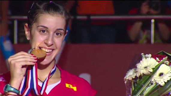 Carolina Marín, de su debut con 12 años en el IES La Orden al bicampeonato del mundo en una década prodigiosa