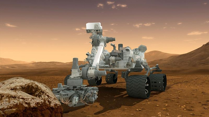 El robot Curiosity. / Foto. Europa Press.
