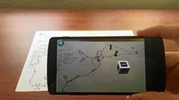Dos estudiantes de la UCM desarrollan una aplicación de realidad aumentada para enseñar los contenidos del Museo de América