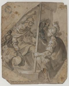 Cuadro de Carducho que representa a Agamenón pidiendo a Aquiles que le devuelva a su esclava Briseida. / Foto: BNE