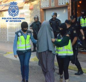 Cuatro personas han sido detenidas en territorio español.