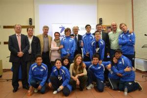 Los jóvenes han recibido una beca. / Foto: Fundación Carmen Pardo-Valcarce.