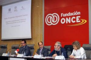 Inauguración de la jornada de debate sobre 'Empleo, Discapacidad y Negociación colectiva'. / Foto: Fundación Once.