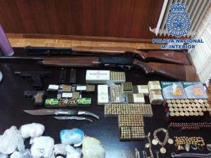 Material incautado en las últimas operaciones de la Policía en la Cañada Real.