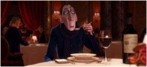 El crítico culinario de 'Ratatouille'.