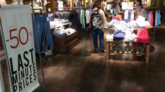 Las ventas de ropa en el mercado ibérico crecen un 3,6% en 2014
